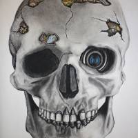 Mechanical Momento Mori Art Prints & Posters by Andy Jeter