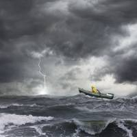 """Ocean-Lightning-Strike"" by johnlund"