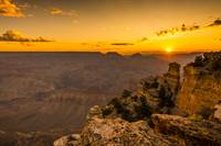 Grand Canyon National Park in the morning light