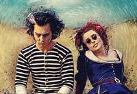 Sweeney Todd and Mrs. Lovett