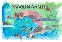 Amalfi_Italy_Favorite_Map_with_touristic_Highlight