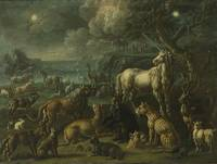 Attributed to Johann Melchior Roos A FANTASTICAL L