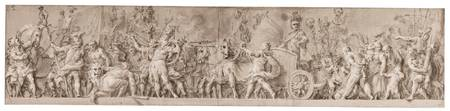 Aureliano Milani , An Elaborate Frieze Showing The
