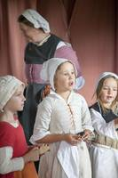 Tudor school children