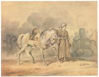Carle Vernet A Mameluk Leading His Horse, 1805