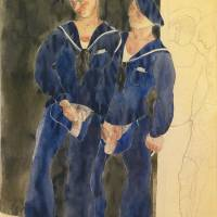 """Charles Demuth 1883 - 1935 TWO SAILORS URINATING"" by motionage"