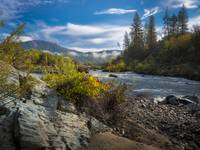 Cronan Ranch and South Fork American River, Autumn
