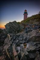 Dusk at West Quoddy Head Lighthouse