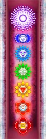 The Seven Chakras - Series VI Artwork IV
