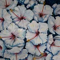 Caribbean Hibiscus Art Prints & Posters by KARIN DAWN BEST