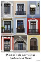 Old San Juan Puerto Rice - Windows and Doors
