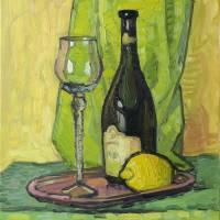 Still Life with Lemon Art Prints & Posters by Ivan Kolisnyk