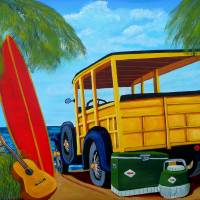 Beach Day Art Prints & Posters by Anthony Dunphy
