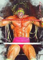 The Ultimate Warrior #4 Wall Art