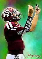 Johnny Manziel #4 Wall Art
