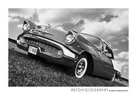1957 Oldsmobile Front BW
