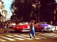 A Havana on my mind with classic american cars
