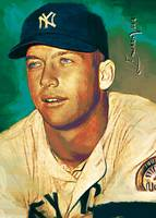 Mickey Mantle #36 Wall Art