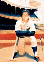 Mickey Mantle #35 Wall Art