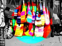 COLORFUL HANDBAGS !