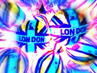 Funky London Pop Art