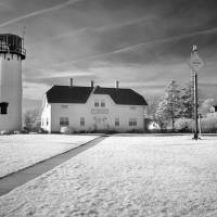 Chatham Light Black and White_DSC3327 FINAL Signat Art Prints & Posters by Luke Moore