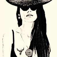 Rodeo Girl-M-4000 Art Prints & Posters by Dave Gafford