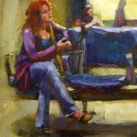 Hurry and Wait Art Prints & Posters by Linda Smith