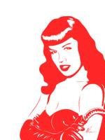 Bettie Page - Pop Art