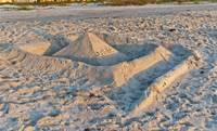Sand Castle by Michael Stephen Wills