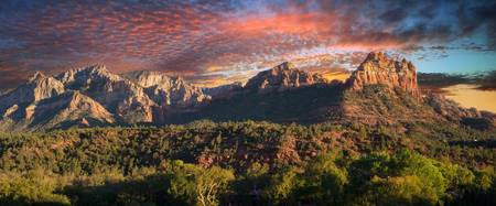 Sunset Over Sedona