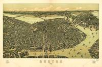 Aerial View of Boston, Massachusetts (1899)