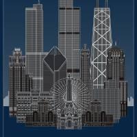 """Decades Chicago"" by scbb11Sketch"