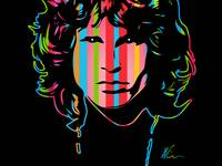 Jim Morrison | Dark | Pop Art