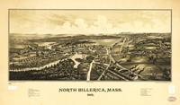Aerial View of North Billerica, Massachusetts (188