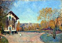 Alfred Sisley View of Marly-le-Roi from Coeur-Vola