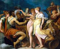 Andrea Schiavone The Marriage of Cupid and Psyche
