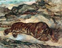 Antoine-Louis Barye Tiger in Repose