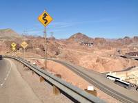 Desert High Road at the Hoover Dam