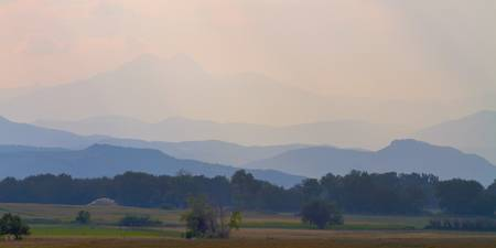 Rocky Mountains Foothills Layers