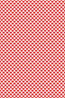 Fun Red Hearts Pattern
