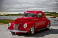1940 Ford 'Cherry Red' Deluxe Coupe