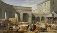 In the Courtyard of the Customs-House 1775 by Nico
