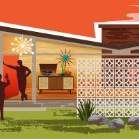 """""""Mid Century Modern House Gay Men 