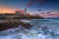 Spring Evening at Portland Head Lighthouse