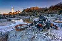 Nikon F2 at Portland Head Light