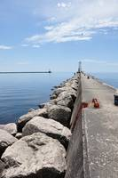 Ludington Lighthouse and Breakwater