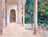 Loggia, View at the Generalife (c. 1912) by John S