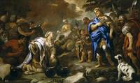 Luca Giordano abigail and david