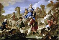 Luca Giordano jacobs journey to canaan